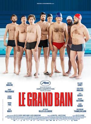 """La grand bain"" esta protagonizada por Mathieu Amalric, el belga Benoît Poelvoorde o Guillaume Canet."