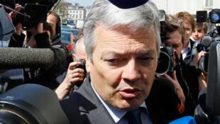 Le ministre belge des Finances, Didier Reynders, le 22 avril 2010.
