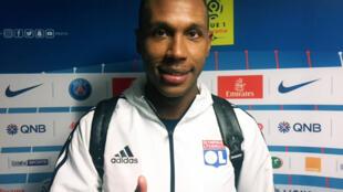 O zagueiro brasileiro Marcelo, contratado pelo Lyon