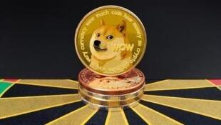 关于狗狗币的报道图片