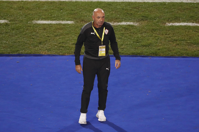 Jaime Pacheco, Treinador português do Zamalek.