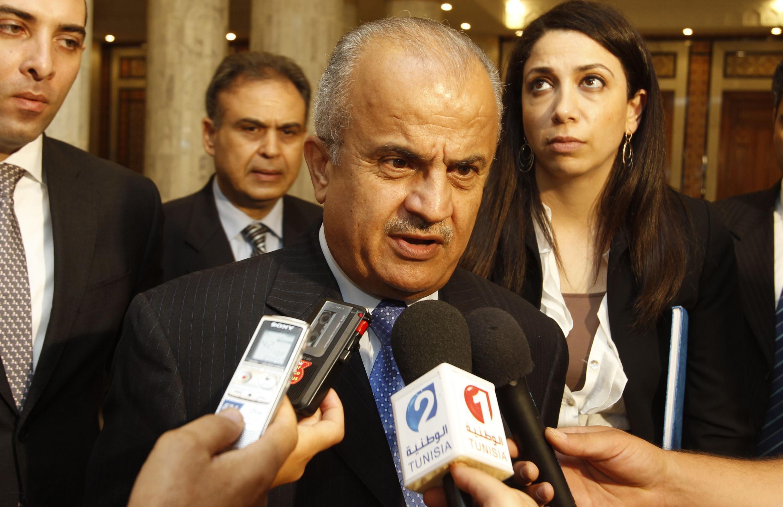 Посленник ООН по Ливии Абдул-элах аль-Хатиб в Тунисе, 16 августа 2011