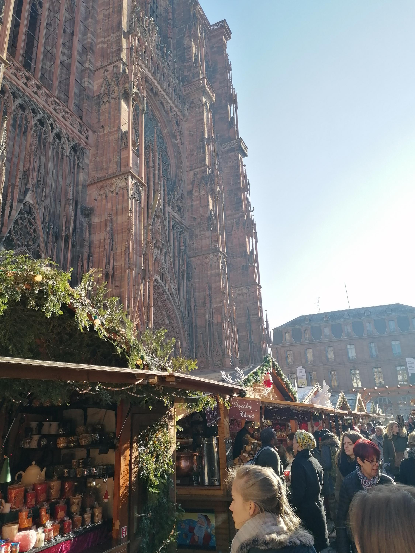 Mercado de Navidad de Estrasburgo el pasado 3 de diciembre