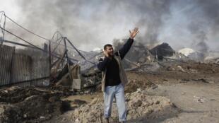 Bombardeios continuam na Faixa de Gaza