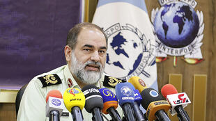 Hadi Chirzad_Chef de Police Internationale iranienne