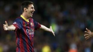 O Barcelona goleou o Ajax por 4 a 0 nesta quarta-feira.