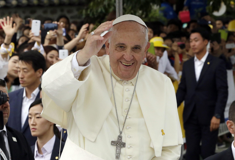 Giáo Hoàng tới bế mạc Đại hội giới trẻ Công giáo châu Á lần thứ 6 tại Seoul ngày 17/8/2014