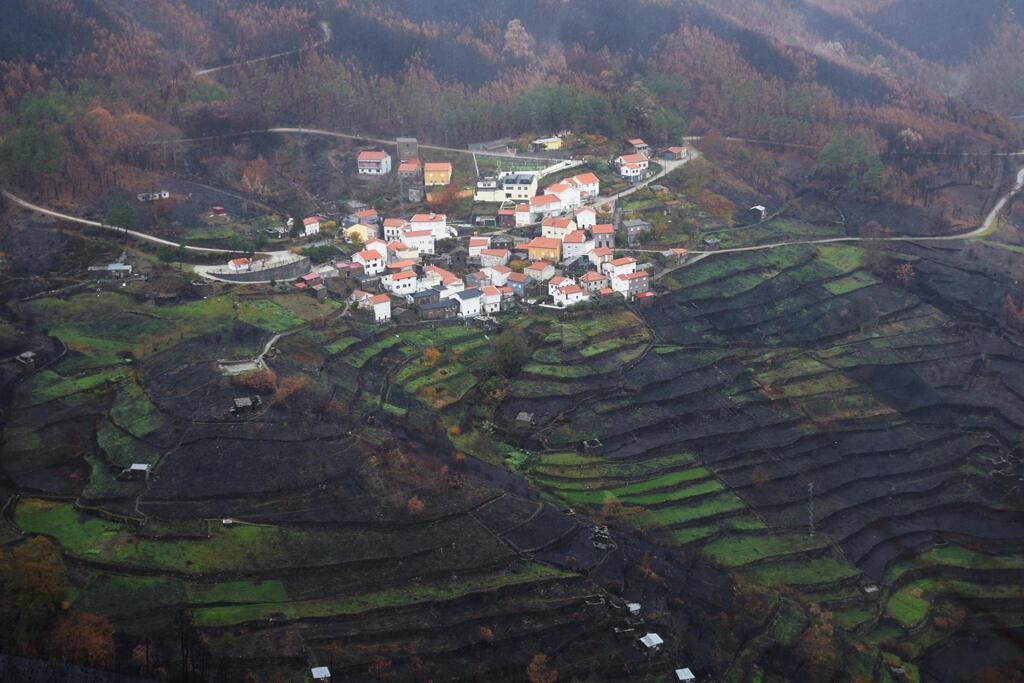 La Serra d'Estrela, massif central portugais, a été très touchée par les incendies meurtriers cette année.