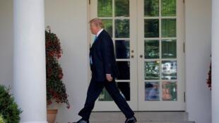O presidente americano, Donald Trump, declarou guerra aberta aos democratas nesta semana.