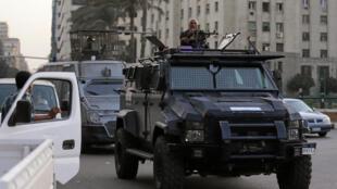 Jami'an tsaro a Masar, da suka yiwa filin taro na Tahrir kawanya