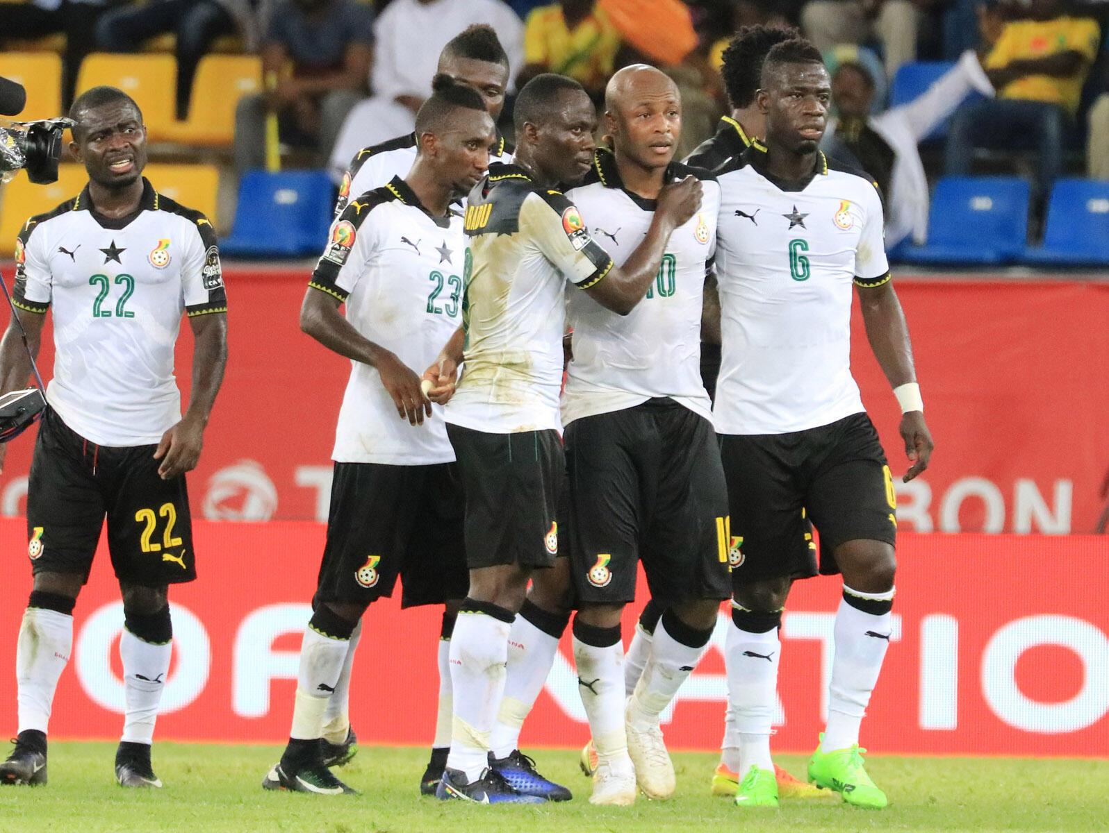 O Gana no CAN 2017.