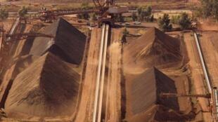 Selon la Chine, les géants du fer manipuleraient les prix. (Photo: mine de fer du groupe Rio Tinto, située au nord de Perth, en Australie).