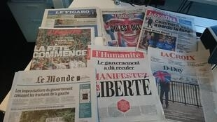 Diários franceses 23.06.2016