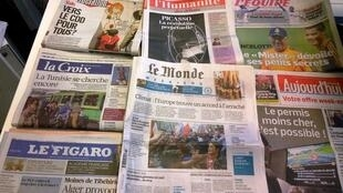 Diários franceses 24/10/2014
