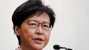 Hong Kong chief executive Carrie Lam said the disturbances were propelling the city towards a dangerous situation.