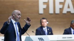 Le Suisse Gianni Infantino.