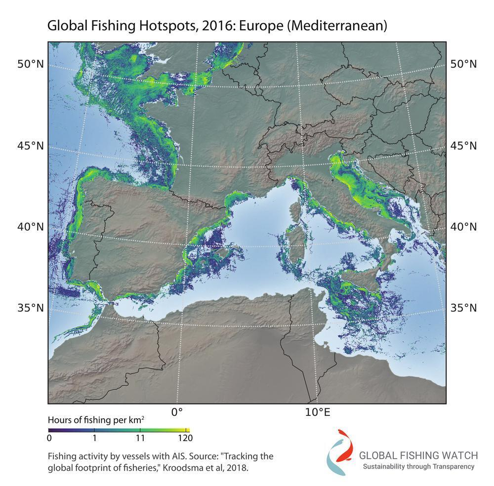 La actividad pesquera ocupó 37 millones de horas en 2016.