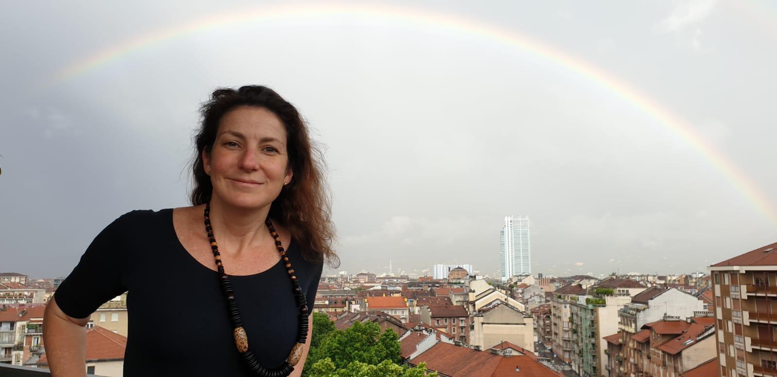 A blogueira e criadora do projeto, Deb Waldmann