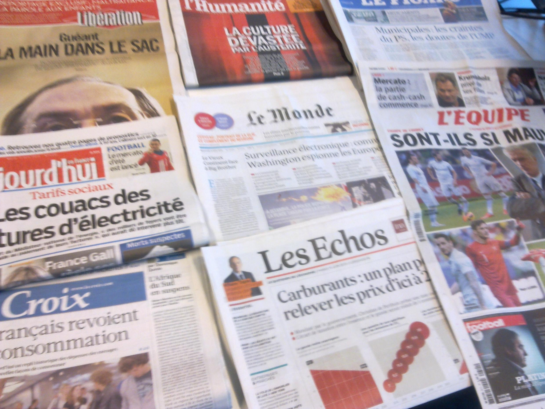 Diários franceses  11/06/2013