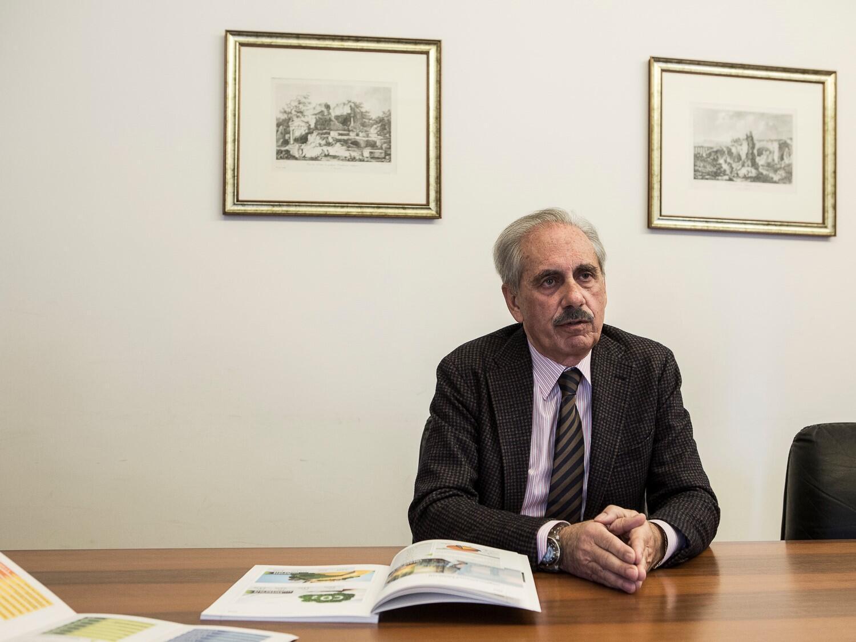 Diego Bivona, président de Confindustria Syracuse (Confédération générale de l'industrie italienne). Syracuse, Italie 02.2020.