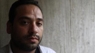 A Alep, Ahmad Azouz lutte pour aider les populations.