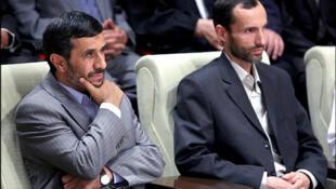 """حمید بقایی""""، معاون اجرایی محمود احمدینژاد رییسجمهوری پیشین ایران."""