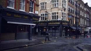 Royaume-Uni-Londres-Covid