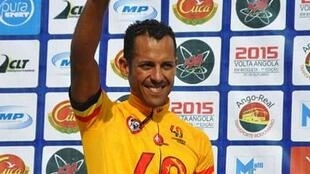 Ciclista angolano do Benfica de Luanda Igor Silva