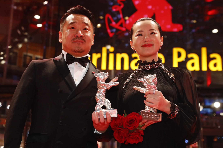 Ван Цзиньчунь и Юн Мэй получили призы Берлинале за лучшие актерские работы в фильме «Прощай, мой сын» Вань Сяошуая