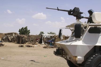 Dakarun wanzar da zaman lafiya na Majalisar Dinkin Duniya a yankin Darfur