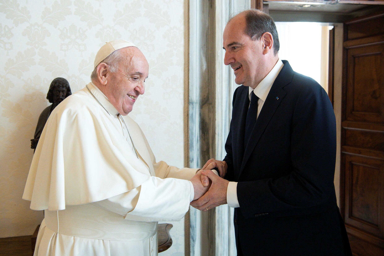 Castex Papa Francisco