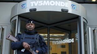 Trụ sở đài truyền hình Pháp TV5Monde tại Paris.