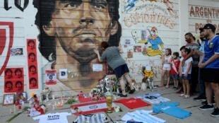 Masoya Maradona na alhinin mutuwarsa a Argentina