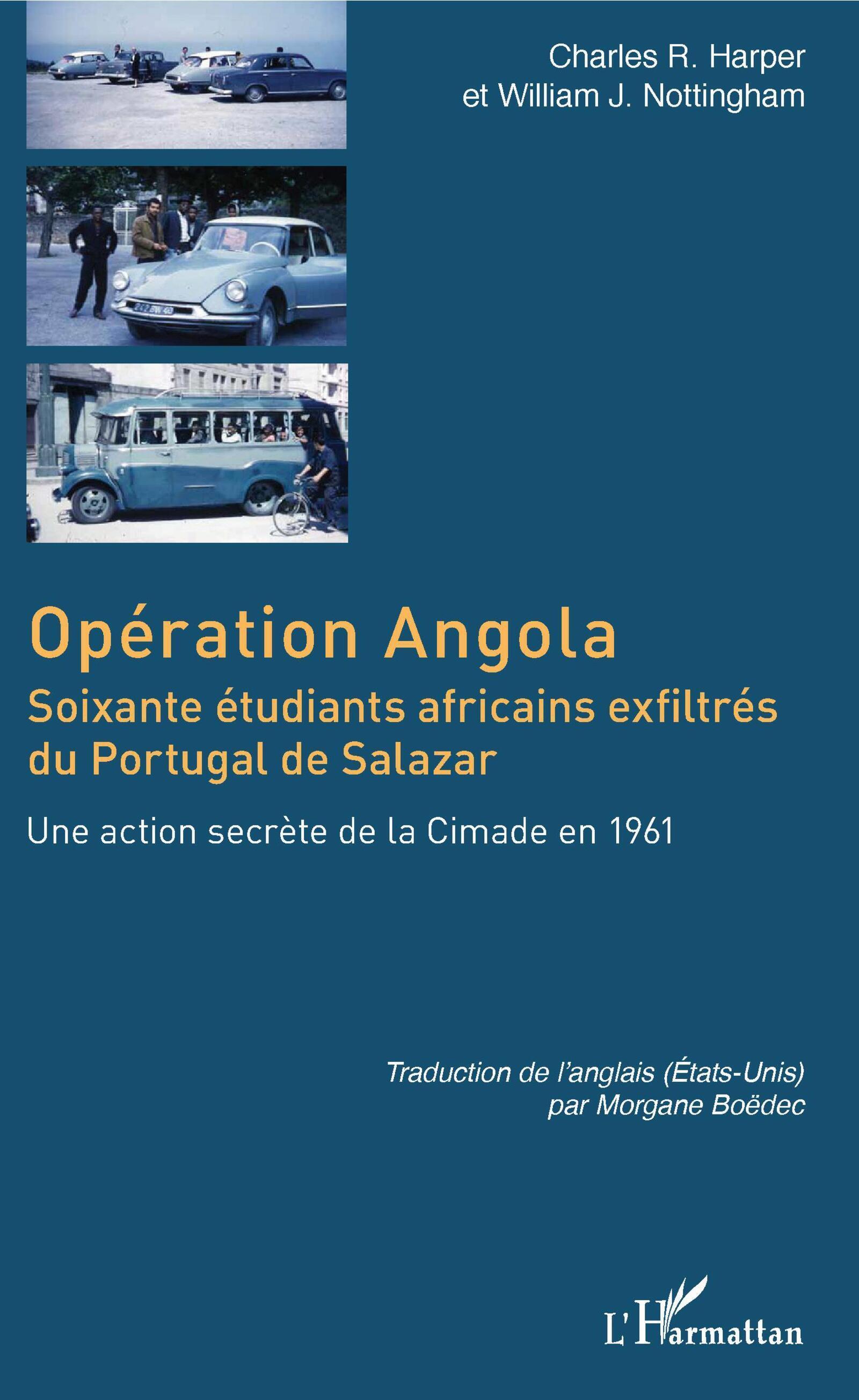 "Livro ""Opération Angola"" de Charles R. Harper e William J. Nottingham"