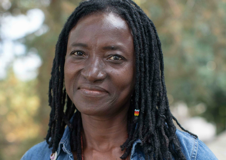 La metteure en scène burkinabè Odile Sankara a présenté la première de sa pièce « Et que mon règne arrive » aux Zébrures d'automne des Francophonies à Limoges.  ©