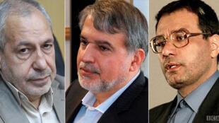رضافرجی دانا ، سید رضا صالحی امیری و علی اصغر فانی