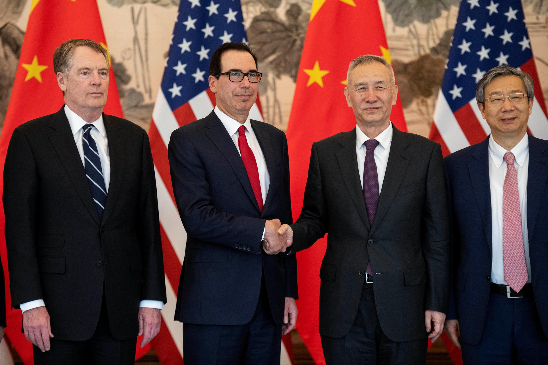 中國美國2019年3月29日的貿易談判