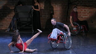 Adriana Miranda y Marlon Corales, grupo de danza contemporánea Azoe Danza