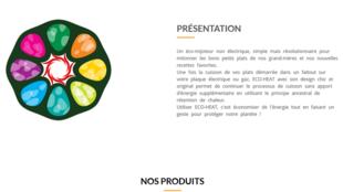 Eco-heat permet à un sac isotherme de continuer la cuisson des plats sans apports énergétique supplémentaire.