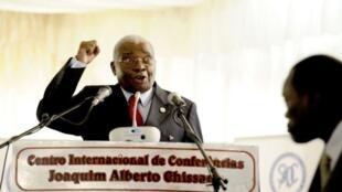 Armando Guebuza, presidente em exercício da SADC