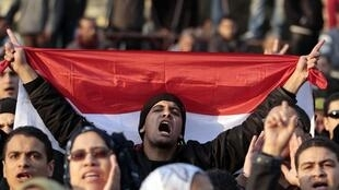 Place Tahrir au Caire, le 20 janvier 2012.