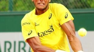 João Souza, o Feijão, caiu na primeira rodada de Roland Garros