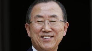 Le secrétaire général des Nations unies Ban Ki-moon.