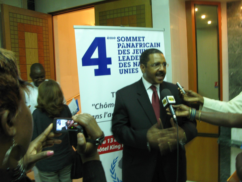 Docteur Mamadou Diallo, directeur régional de l'ONUSIDA