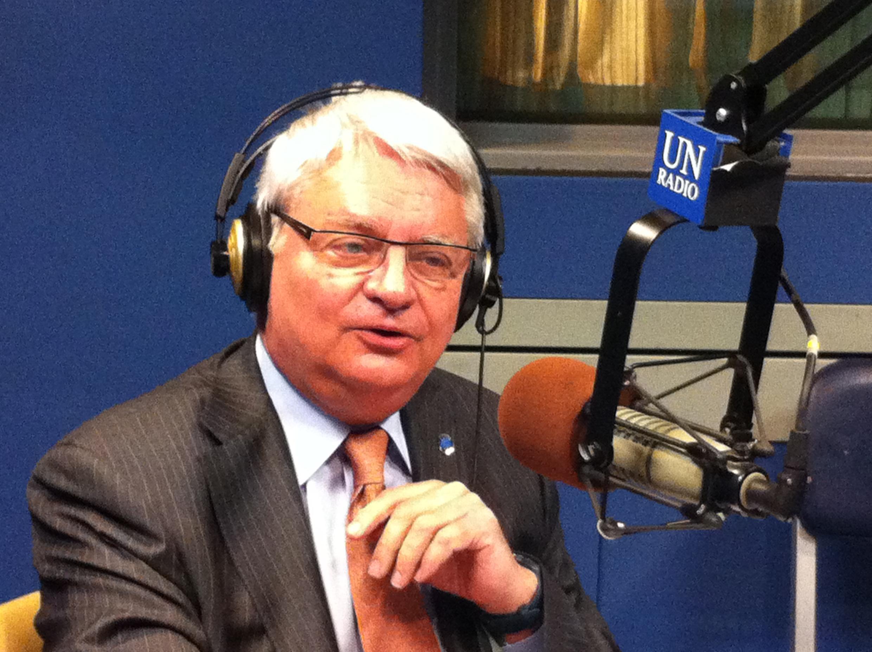 Hervé Ladsous, le secrétaire général adjoint des Nations unies en charge des opérations de maintien de la paix