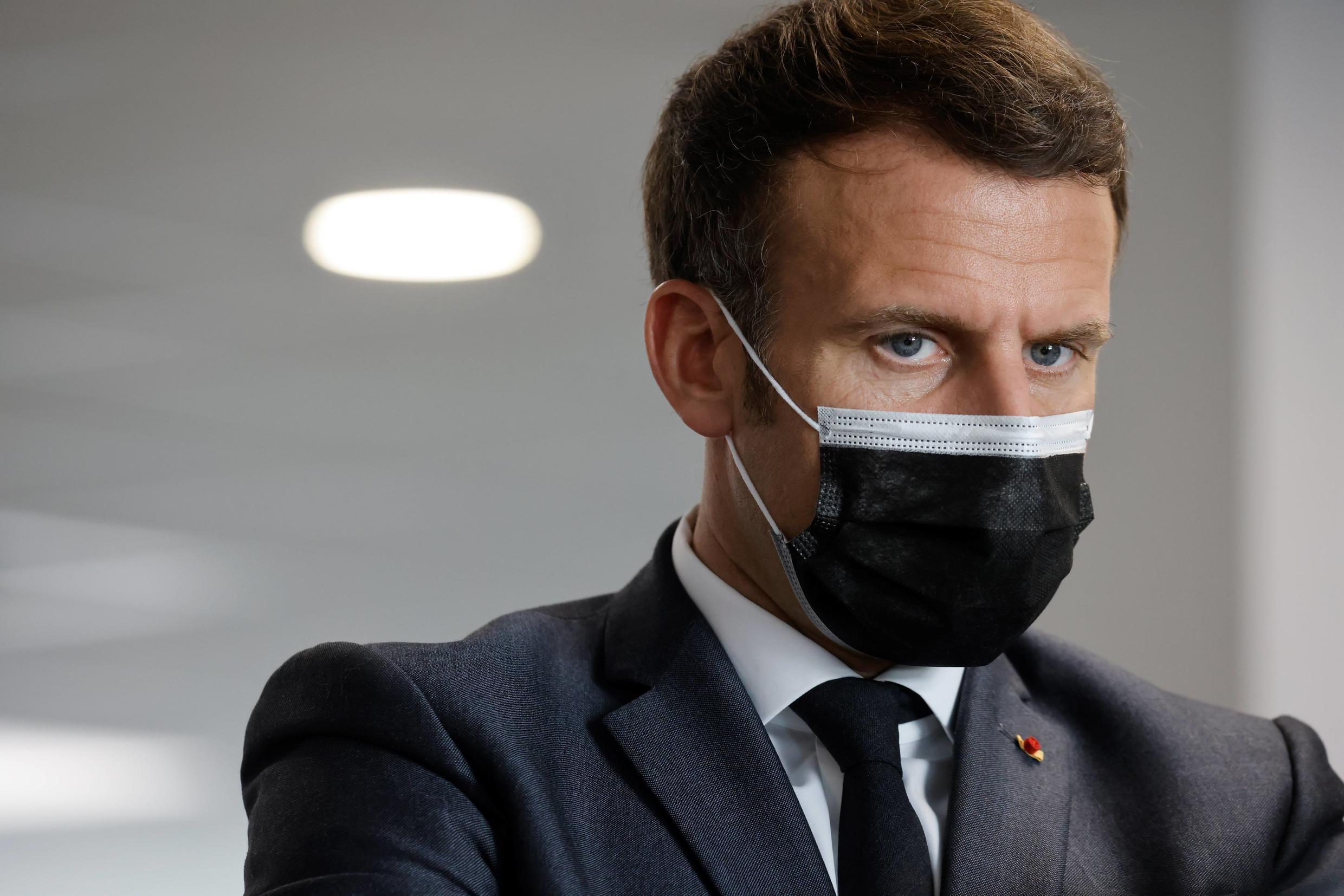 Macron has refused to apologise for his handling of the pandemic