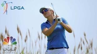 圖為LPGA高爾夫國際球賽宣傳畫 網絡照片