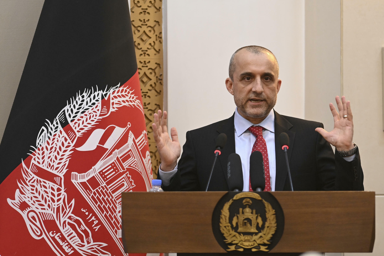 拒绝向塔利班投降的阿富汗副总统萨勒赫 Amrullah Saleh