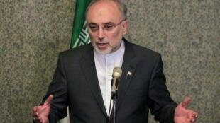 O ministro das Relações Exteriores do Irã, Ali Akbar Salehi