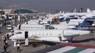 La Salon aéronautique de Dubaï 2011.